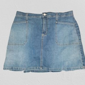 Gloria Vanderbilt Denim Jeans Skort